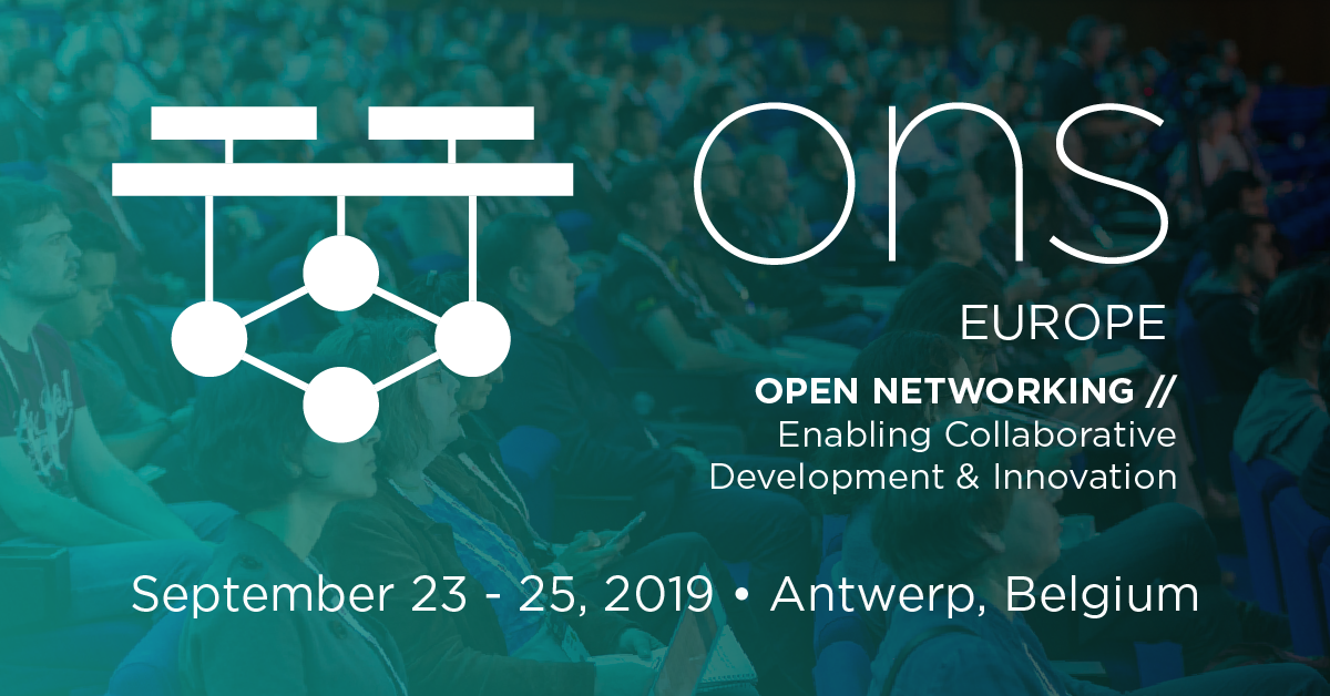 Attend - Open Networking Summit Europe 2019